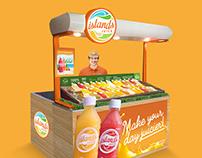 Islands Juice Branding and Identity