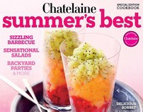 Chatelaine Magazine - Summer's Best Cookbook