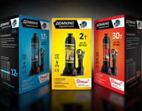 Packaging design of Hydraulic jack boxes