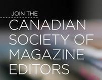 Marketing: Canadian Society of Magazine Editors