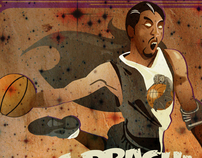 Space Dracula Basketball Expo Poster