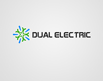 DUAL ELECTRIC LOGO AND BRANDING