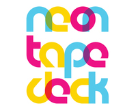 Neon Tape Deck - Logo Design & Branding
