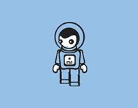 Jolie Cosmonaute