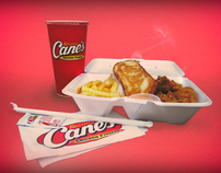 Cane's Chicken Style Frames