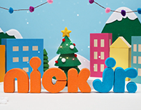 Nick Jr. Holiday ID Animations
