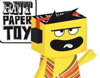 ROCKN'TOUR Paper TOY