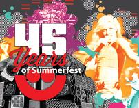 Summerfest 45 Year Anniversary Exhibit