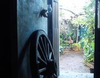 Inside Gallery Inn Habitat Old San Juan PR 12/2009