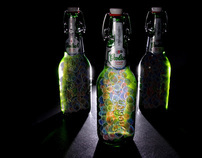 Grolsch ArtBoom - Grolsch Bottle Art - light bottle