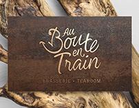 BRANDING - AU BOUTE EN TRAIN BRASSERIE