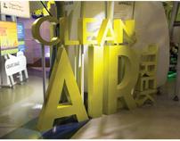 Clean Air Trek Exhibit