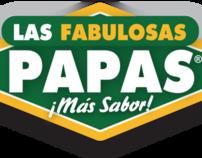 Las Fabulosas Papas - Rebranding & Campaign