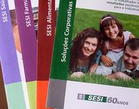 "Folders institucionais ""SESI/SC"", 2011"