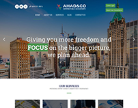 Ahad & Co Website Design & Development