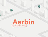 Aerbin - website animations