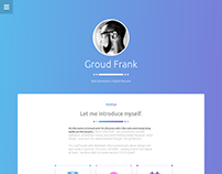 Personal website version 2.0
