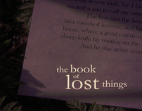 """The Book of Lost Things"" title sequence"