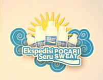 Art Directing - Pocari Sweat video animation