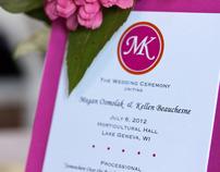 Beauchesne Wedding Programs