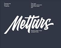 Mettars Typeface