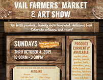 Vail Farmers' Market & Farm to Table • Branding