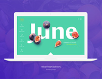The Nice Fresh Delivery - Branding&UI