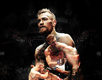 Conor McGregor Vs. Jose Aldo UFC 194 Posters