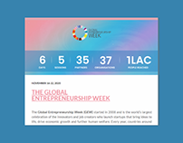 GEW & Finance Week Summary Newsletter Design - GAME