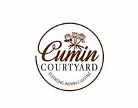Cumin Coutyard Logo Branding Art Direction Graphic