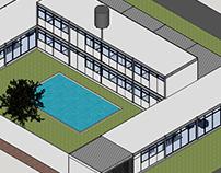 Residência em Sistema Construtivo Pré-fabricado