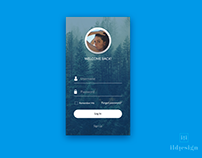 Day 444: Login UI Design