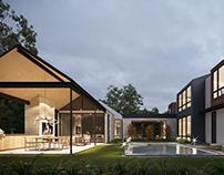 Mixon's house  CGI