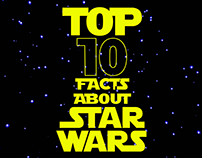 TOP 10 FACTS ABOUT STAR WARS - Infographic