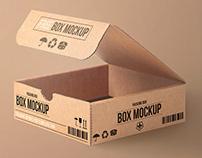 FREE CARTON PSD PACKING BOX MOCKUP