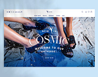 BLUE BIRD Shoes • Cosmic Campaign