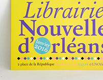 Librairie Nouvelle d'Orléans - 2016