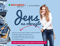 jeans over and ... - emailing campaign fashion store.