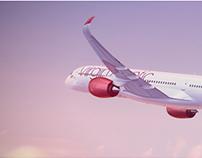 Bolder Creative -Virgin Atlantic,A350 - 1000 Film