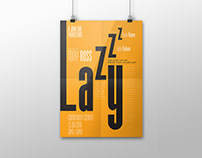 Theatre Play Typography Poster