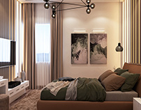Bedroom Interior Design and Visualization Proposals