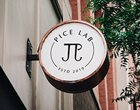 Pice Lab - 視覺識別 Visual Identity