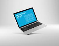 MacBook AirMock-Up – Silver