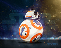 BB-8 Star Wars - Dibujo vectorial