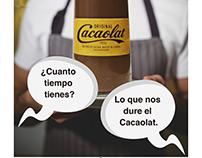 """Campaña Gráfica """"Cacaolat"""""""