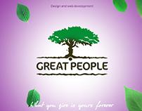 Showreel for Web studio Great People
