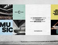 Concertgebouw Brugge - branding