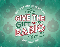 Give the Gift of Radio Web Banner