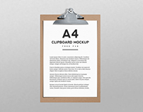 20+ Handsomely Created Clipboard PSD Mockup Templates