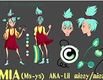 Lil Miss Reference Sheet